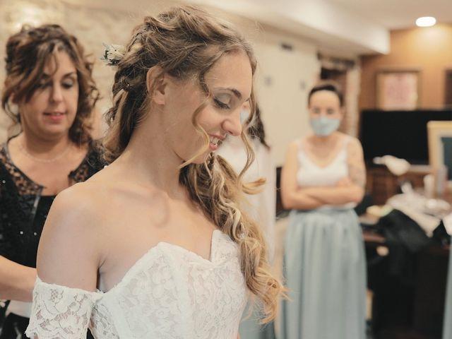La boda de Ruth y Joan Marc en Sant Andreu De La Vola, Barcelona 2