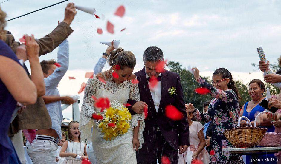 La boda de Germán y Ana Paula en Fares, Girona