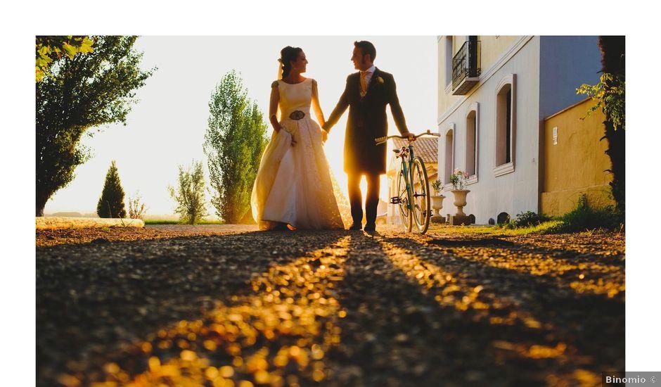 La boda de Javier y Jessica en Alfajarin, Zaragoza