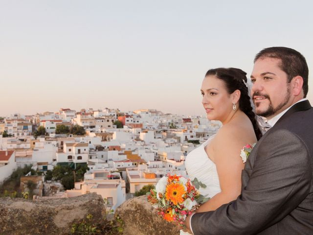 La boda de Eva y Ismael