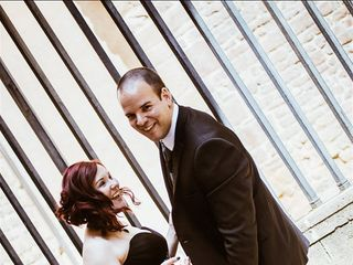 La boda de Cova y Pelu 1