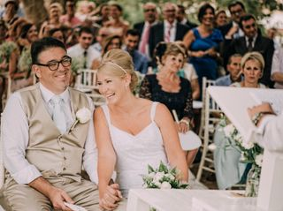 La boda de Lisa y Tino