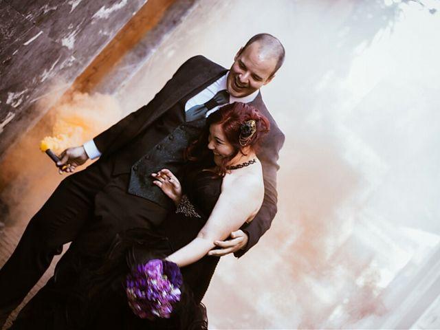 La boda de Cova y Pelu