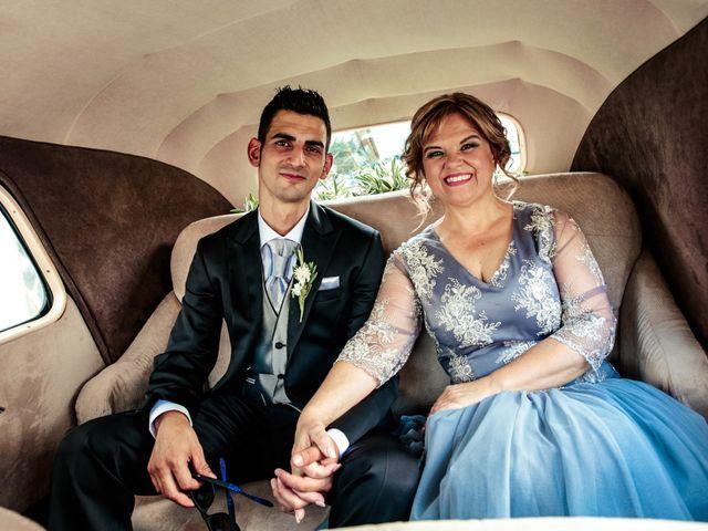 La boda de David y Eva en Illora, Granada 12