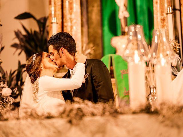 La boda de David y Eva en Illora, Granada 96