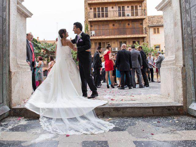 La boda de César y Agueda en Burjassot, Valencia 7