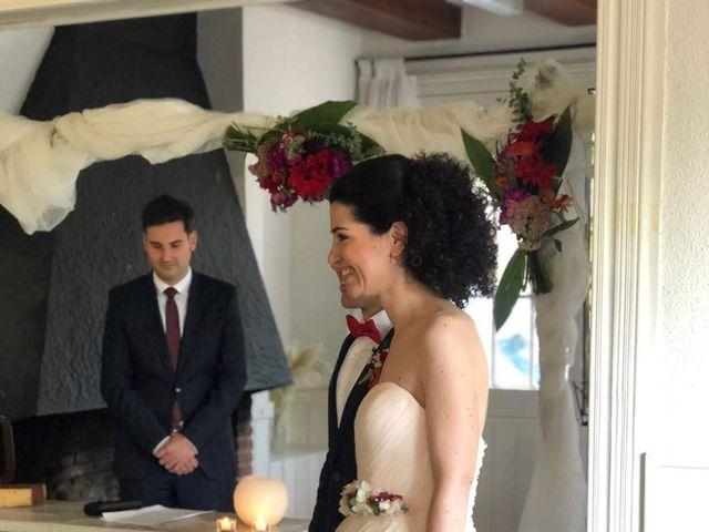 La boda de Oscar y Agueda en Sant Quirze Safaja, Barcelona 1