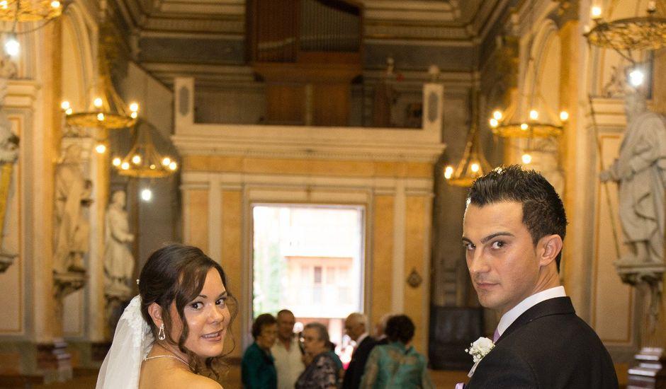 La boda de César y Agueda en Burjassot, Valencia