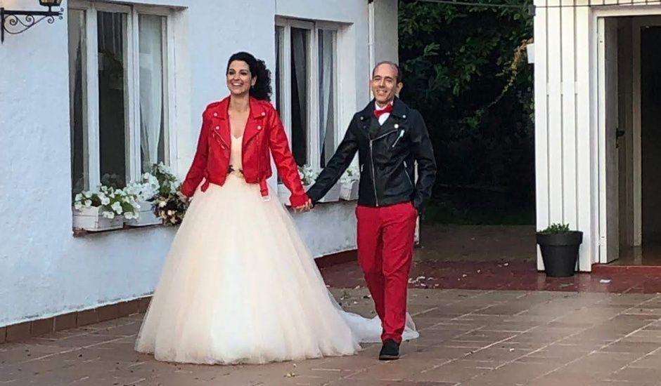 La boda de Oscar y Agueda en Sant Quirze Safaja, Barcelona