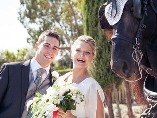 La boda de Giorgia y Fran