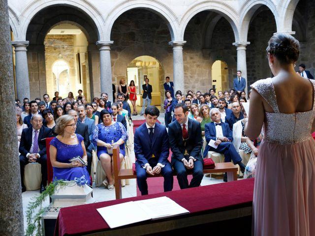 La boda de Alberto y Nito en Santo Estevo De Ribas De Sil, Orense 1