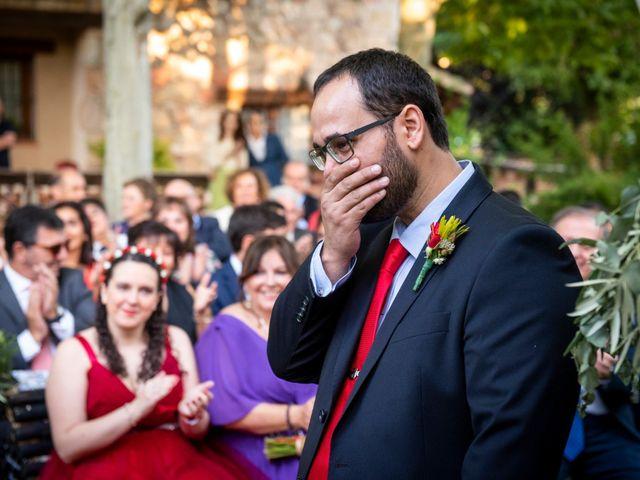 La boda de Dani y Cris en Requijada, Segovia 41