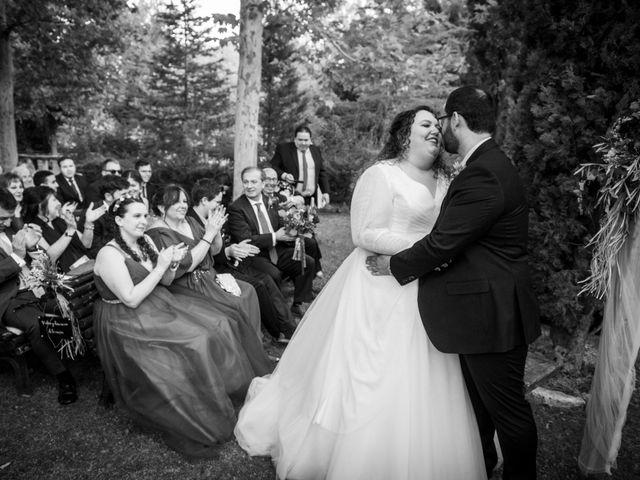 La boda de Dani y Cris en Requijada, Segovia 45