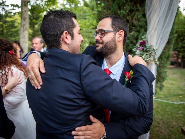 La boda de Dani y Cris en Requijada, Segovia 49
