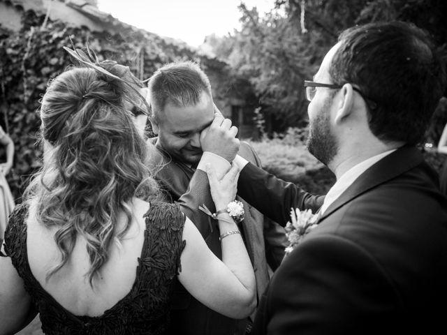 La boda de Dani y Cris en Requijada, Segovia 54