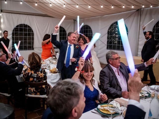 La boda de Dani y Cris en Requijada, Segovia 61