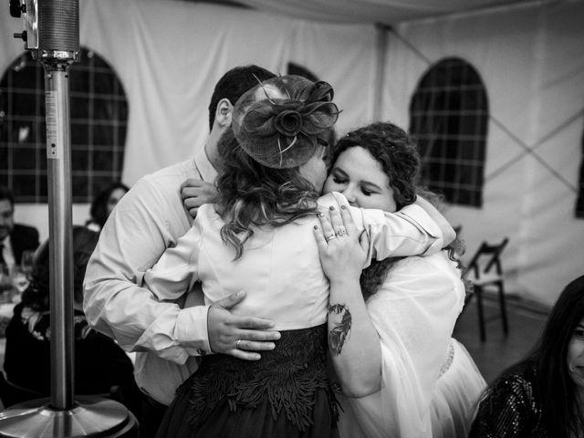 La boda de Dani y Cris en Requijada, Segovia 70