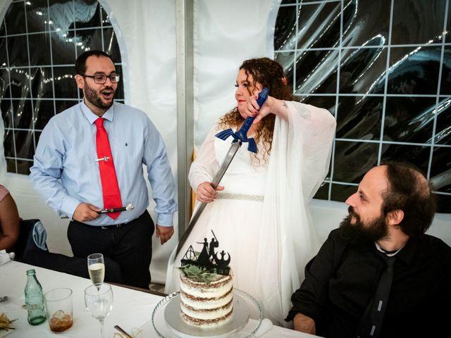 La boda de Dani y Cris en Requijada, Segovia 71