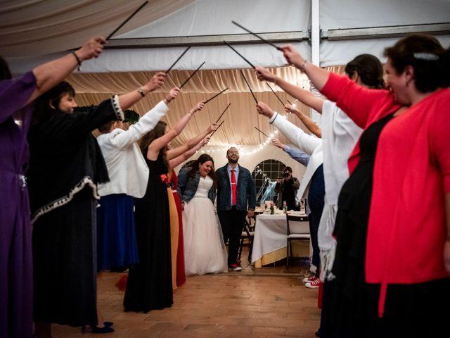 La boda de Dani y Cris en Requijada, Segovia 75