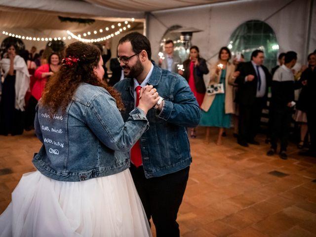 La boda de Dani y Cris en Requijada, Segovia 76