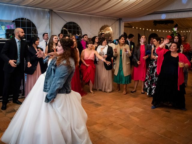 La boda de Dani y Cris en Requijada, Segovia 79
