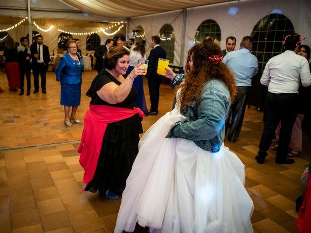 La boda de Dani y Cris en Requijada, Segovia 82