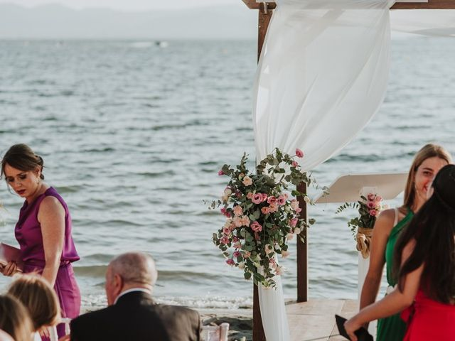 La boda de Rubén y Claudia en La Manga Del Mar Menor, Murcia 3