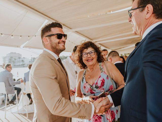 La boda de Rubén y Claudia en La Manga Del Mar Menor, Murcia 4