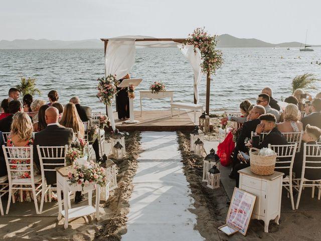 La boda de Rubén y Claudia en La Manga Del Mar Menor, Murcia 5