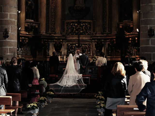 La boda de David  y Isabel  en Navalcarnero, Madrid 1