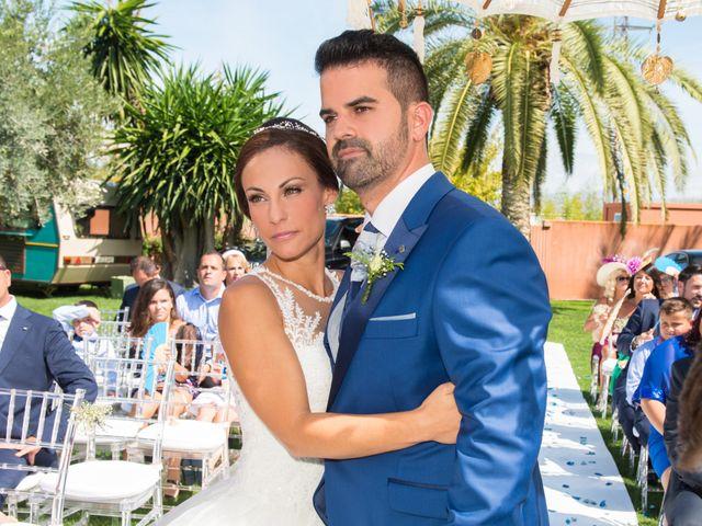 La boda de Jessica y Carlos en Alhaurin De La Torre, Málaga 19