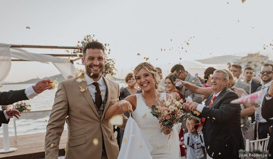 La boda de Rubén y Claudia en La Manga Del Mar Menor, Murcia