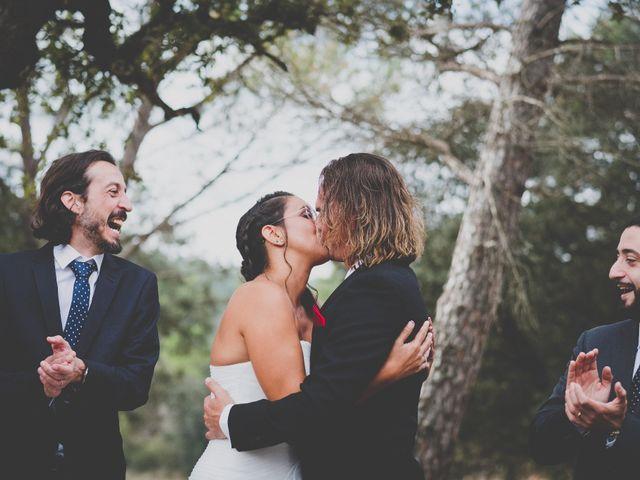 La boda de Mireia y Peet