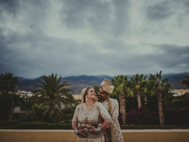 La boda de Ravi y Lisa en Guimar, Santa Cruz de Tenerife 14