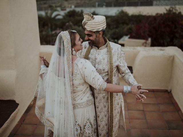 La boda de Ravi y Lisa en Guimar, Santa Cruz de Tenerife 18