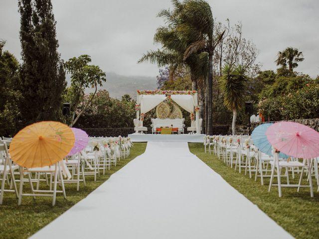La boda de Ravi y Lisa en Guimar, Santa Cruz de Tenerife 46