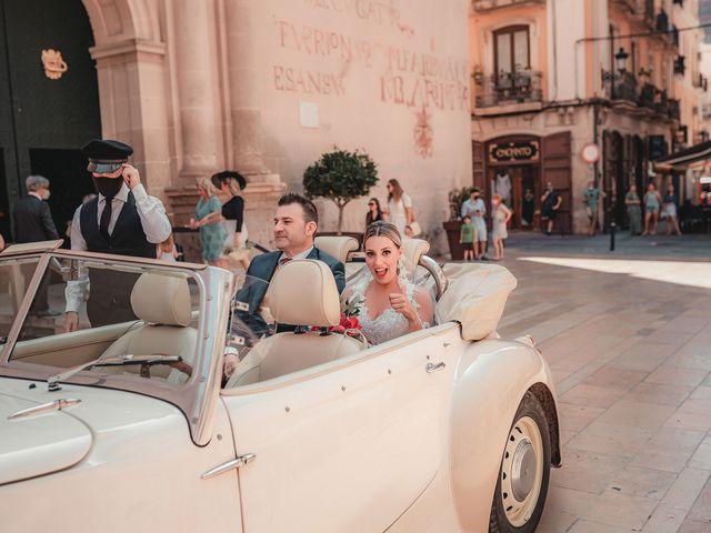 La boda de José y Silvia en Alacant/alicante, Alicante 64