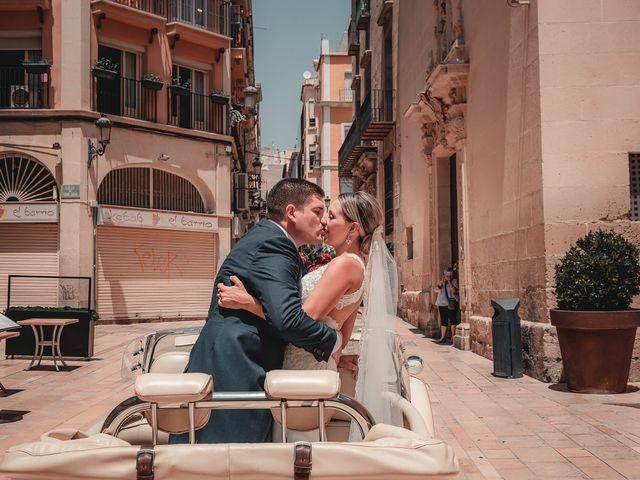 La boda de José y Silvia en Alacant/alicante, Alicante 85