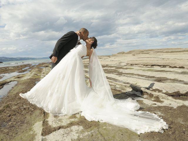 La boda de Naiara y Abdel Hadi