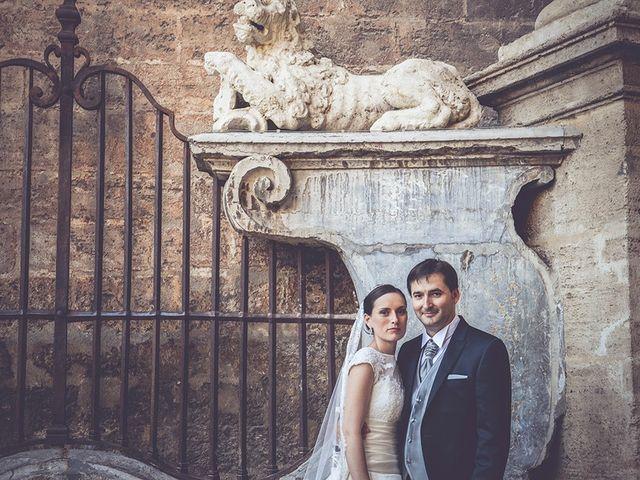 La boda de Miguel y Emma en Vilamarxant, Valencia 1