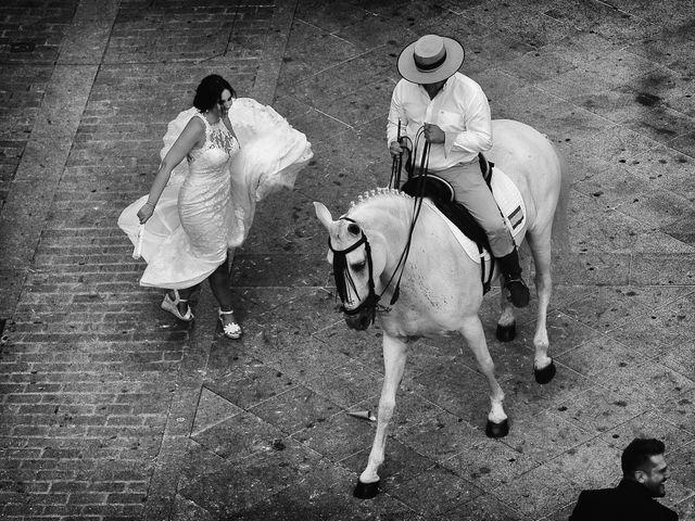 La boda de Juan Carlos y Elena en Plasencia, Cáceres 58