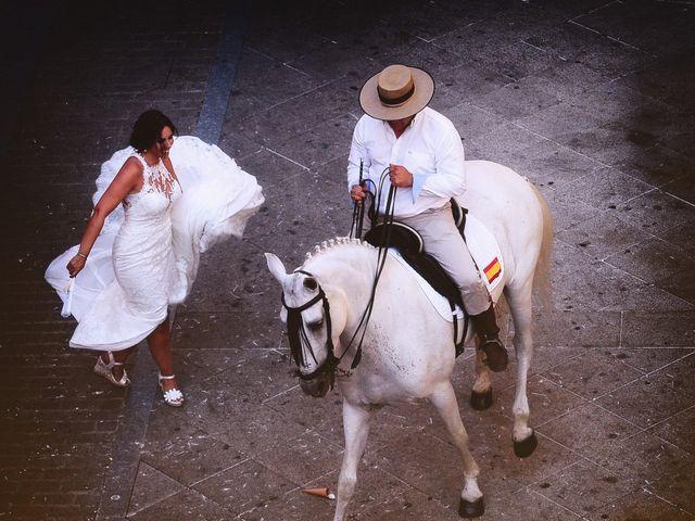 La boda de Juan Carlos y Elena en Plasencia, Cáceres 61