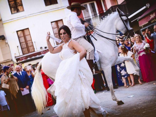 La boda de Juan Carlos y Elena en Plasencia, Cáceres 62