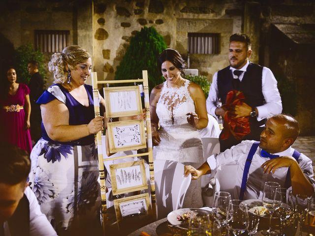 La boda de Juan Carlos y Elena en Plasencia, Cáceres 92
