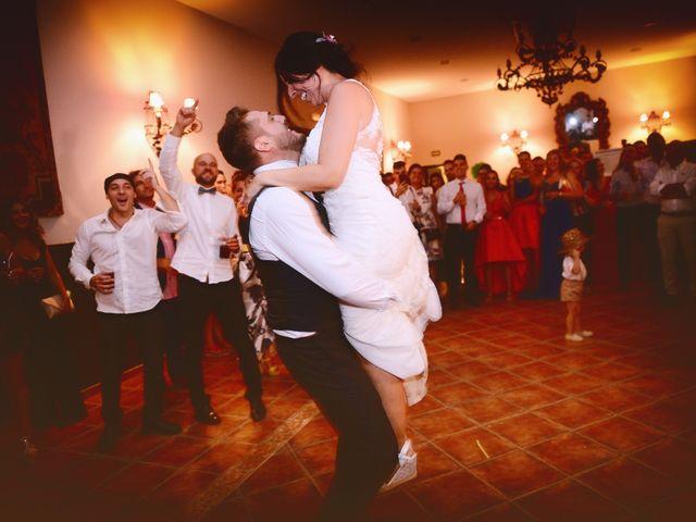 La boda de Juan Carlos y Elena en Plasencia, Cáceres 95