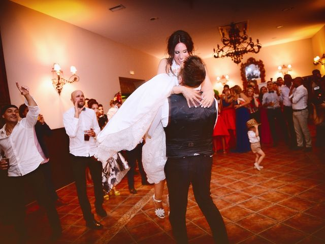 La boda de Juan Carlos y Elena en Plasencia, Cáceres 96
