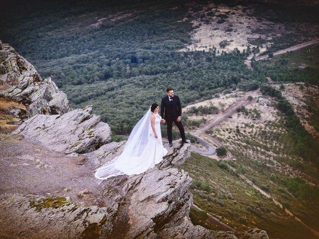 La boda de Juan Carlos y Elena en Plasencia, Cáceres 108