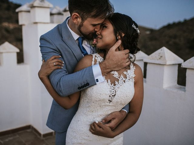 La boda de Max y Ana en Alhaurin El Grande, Málaga 125