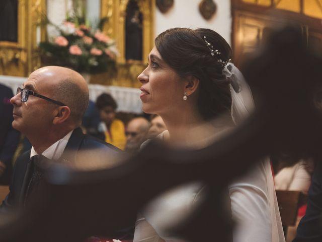 La boda de Juan y Sara en La Nava De Santiago, Badajoz 19