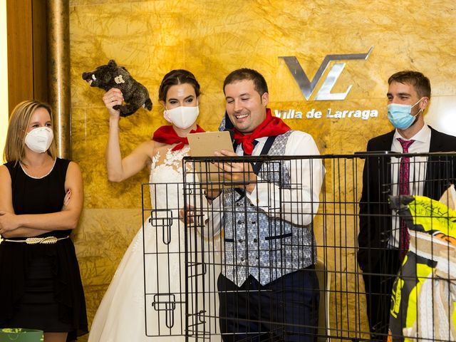 La boda de Bea y Rubén en Larraga, Navarra 43